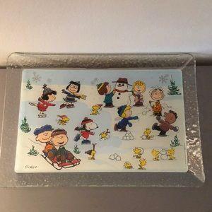 Hallmark-Peanuts Serving Platter